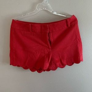 Cute red shorts!